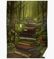 The Reader's Path Poster