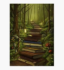 The Reader's Path Photographic Print