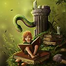The Bookworm by MorJer
