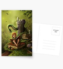 The Bookworm Postcards