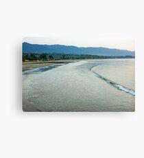 Ocean Silk - a Peaceful Santa Barbara Seascape  Canvas Print