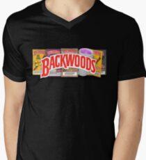 BACKWOODS VINTAGE HIPHOP SHIRT Men's V-Neck T-Shirt