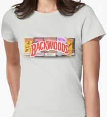 BACKWOODS VINTAGE HIPHOP SHIRT Womens Fitted T-Shirt