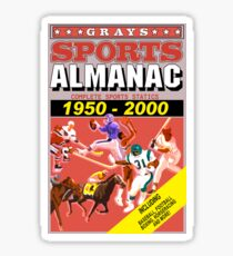 BTTF: Sports Almanac Sticker