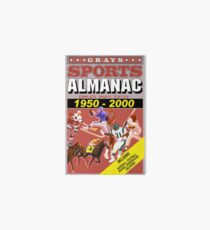 BTTF: Sports Almanac Art Board