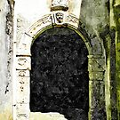 Door in the historic center of Tortora by Giuseppe Cocco