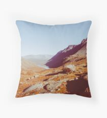 Norway - Jotunheimen National Park Shot on Film Throw Pillow