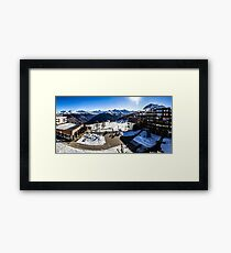 Thyon 2000 Panorama Framed Print