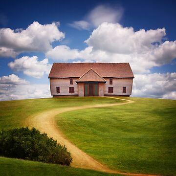 Barn Style House on Hill by Kilbracken