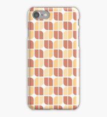 Mid Cen Mod Florets iPhone Case/Skin