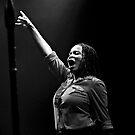 """Makeisha """"Keysha"""" McTaggart of Steel Pulse 2016 Tour by kailani carlson"""