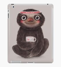 Sloth I♥lazy iPad Case/Skin