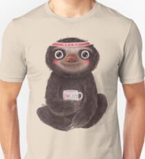 Sloth I♥lazy Unisex T-Shirt