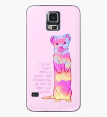 """You've Been Doing a Great Job"" Sunrise Stoat Case/Skin for Samsung Galaxy"