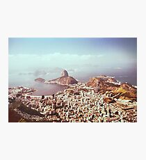 Rio de Janeiro - View on Sugarloaf Shot on Film (Brazil) Photographic Print