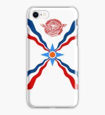 Assyrian flag iPhone Case/Skin