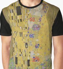 The Kiss - Gustav Klimt Graphic T-Shirt