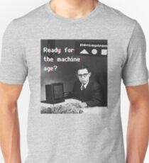 Ready for the machine learning age? (8-bit 3D) T-Shirt