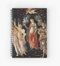Primavera - Sandro Botticelli Spiral Notebook