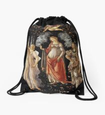 Primavera - Sandro Botticelli Drawstring Bag