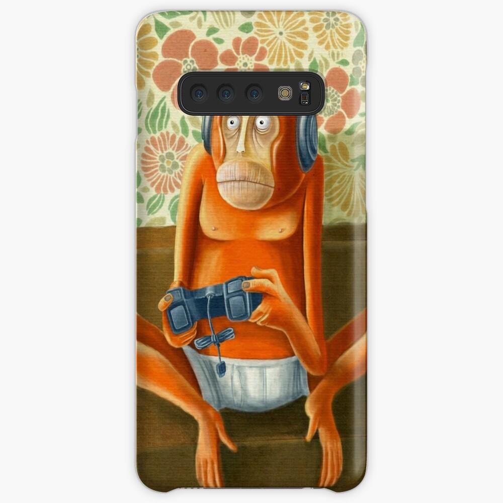 Monkey play Case & Skin for Samsung Galaxy
