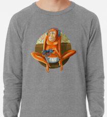 Monkey play Lightweight Sweatshirt