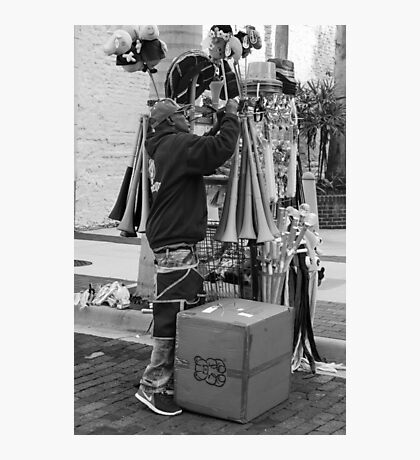 The Street Vendor Photographic Print