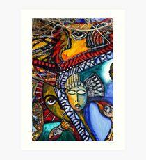 callejon de hamel art, Havana, Cuba Art Print