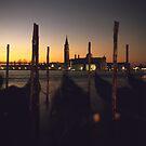 Venice Dawn - Towards San Giorgio Maggiore by Matthew Walters