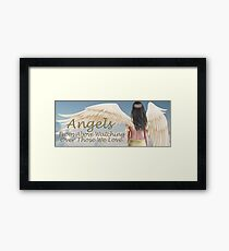 Angels From Above Framed Print