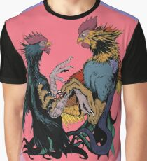 Cock Fight Graphic T-Shirt