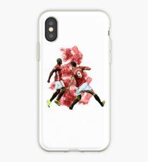 Vinilo o funda para iPhone Arte de Pogba e Ibrahimovic
