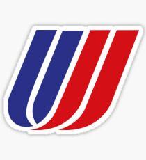 Classic United Airlines logo Sticker