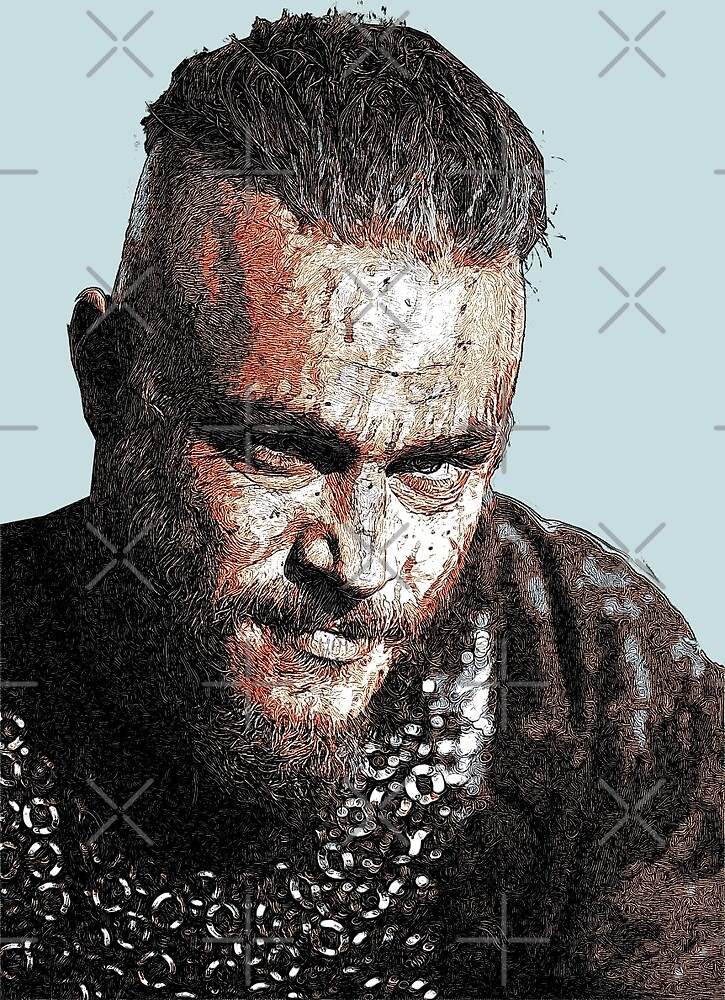 Bloody Ragnar by painterfrank