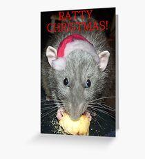 Ratty Christmas! Greeting Card