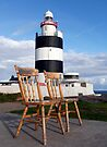 The 2 chairs.  Hook Lighthouse, County Wexford, Ireland by David Carton