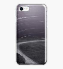 Night Sky Over Path iPhone Case/Skin
