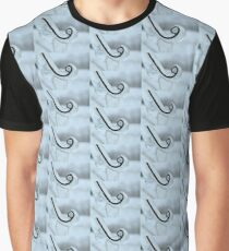 Icicle Abstract Graphic T-Shirt