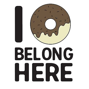 I donut belong here by contoured
