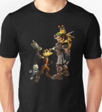 Jak and Daxter and Ratchet and Clank  Unisex T-Shirt