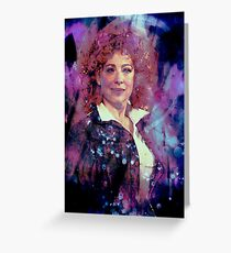 River Song Greeting Card