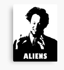 9 GAG - Aliens Canvas Print