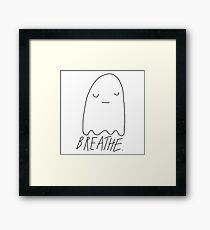 Stress Relief Ghost Framed Print
