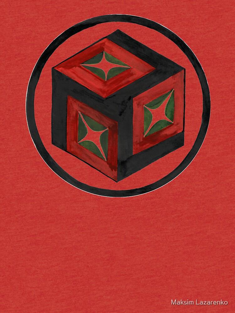 Antahkarana Ancient Reiki Healing Symbol Tri Blend T Shirt By