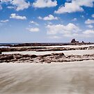 Beach in San Juan del Sur (Nicaragua) Shot on Film by visualspectrum