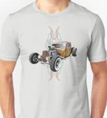 Pinstripe RAT - Full Throttle-a T-Shirt