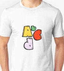 Abc cartoon symbol T-Shirt