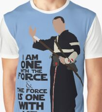 Star Wars - Chirrut Imwe I Am One With The Force And The Force Is With Me Graphic T-Shirt