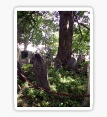salem cemetery Sticker