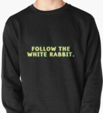 Follow the white rabbit Pullover